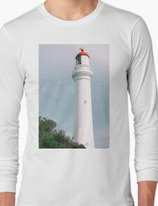 Split Point Lighthouse in Aireys Inlet. Long Sleeve T-Shirt