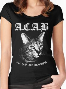 ACAB.  Women's Fitted Scoop T-Shirt