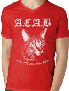 ACAB.  Mens V-Neck T-Shirt