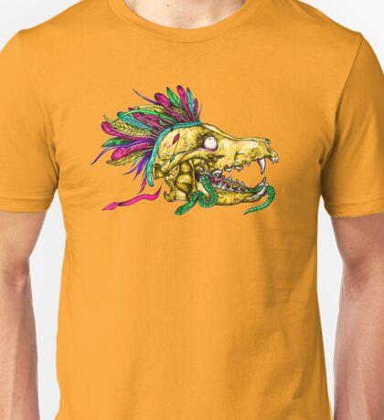 Wolf Skull Unisex T-Shirt