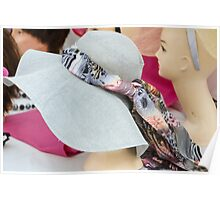 handmade hats Poster