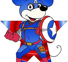 Captain America Mickey by Skree