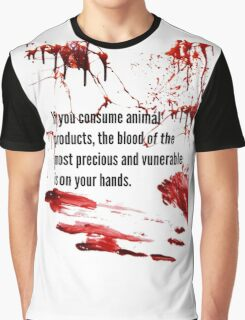 Blood is on Your Hands Graphic T-Shirt