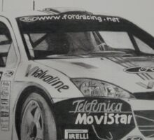 Ford Focus Rally 2002 Sticker