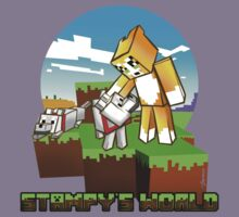 Stampy's World featuring Mr. Stampy Cat and Gregory the Dog! Kids Clothes