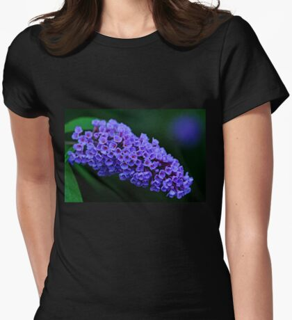 Dew Kissed Buddleia Womens Fitted T-Shirt