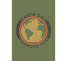 Earth Day: Old School Photographic Print