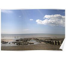 BEXHILL LOW TIDE Poster