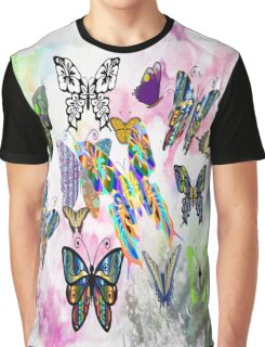 Butterfly Storm Graphic T-Shirt