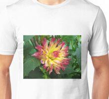 Dahlia Fire Unisex T-Shirt