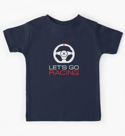 Let's go racing! Kids Tee