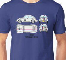 Herbie Volkswagen Beetle Unisex T-Shirt