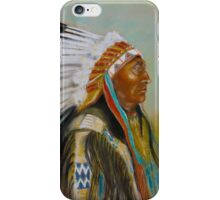 Brule-Sioux Chief iPhone Case/Skin