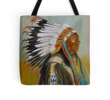 Brule-Sioux Chief Tote Bag