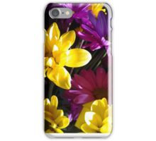 Assorted Bouquet of cut flowers iPhone Case/Skin