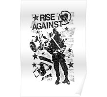Rise Against Riot Gear Poster