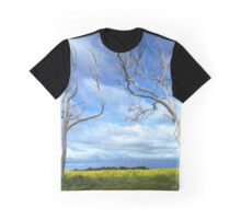 Trees and Canola Graphic T-Shirt