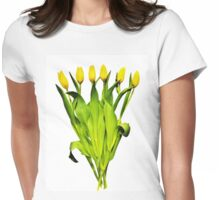 Tulip Tangle Womens Fitted T-Shirt