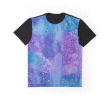 """Moody Blues"" Watercolor  Graphic T-Shirt"