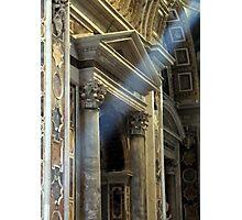 Sistine Rays Photographic Print