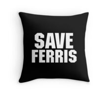 Save Ferris Gifts and Merchandise Throw Pillow