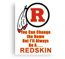 The NFL Redskins A Proud Tradition Canvas Print
