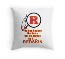 The NFL Redskins A Proud Tradition Throw Pillow