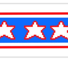 Patriotic Ms P  Sticker