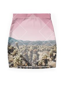 Desert Geo Mini Skirt