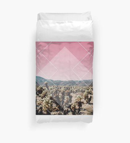 Desert Geo Duvet Cover