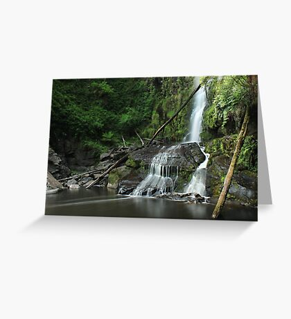 Erskine Falls VIC Greeting Card