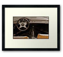 Speeding Since 1959 Framed Print