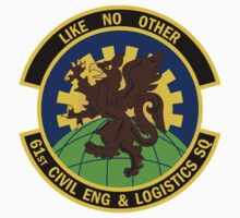 61st Civil Engineer & Logistics Squadron - Like No Other by VeteranGraphics