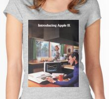 APPLE 2 CLASSIC AD  Women's Fitted Scoop T-Shirt