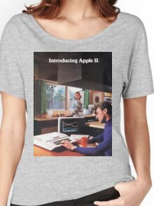 APPLE 2 CLASSIC AD  Women's Relaxed Fit T-Shirt