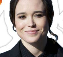 Ellen Page iconic Sticker