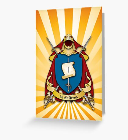 Assume Arms Coat of Arms Greeting Card