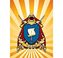 Assume Arms Coat of Arms Photographic Print