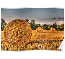 The Straw Bales Poster