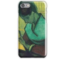 Vincent Van Gogh -  Novel Reader, 1888 iPhone Case/Skin