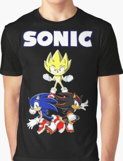 TEAM SONIC TSHIRT Graphic T-Shirt