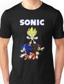 TEAM SONIC TSHIRT Unisex T-Shirt