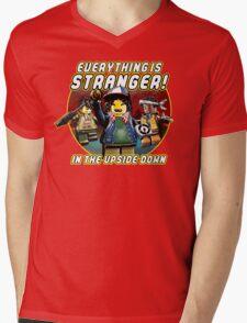 Everything Is Stranger Mens V-Neck T-Shirt