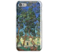 Vincent Van Gogh -  Grounds Of  Asylum, 1889 iPhone Case/Skin