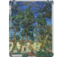 Vincent Van Gogh -  Grounds Of  Asylum, 1889 iPad Case/Skin