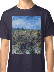 Vincent Van Gogh -  Green Vineyard, 1888 Classic T-Shirt
