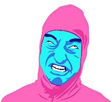 Pink Guy Photographic Print