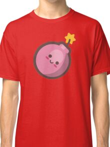 Cute Happy Pink Bomb Classic T-Shirt