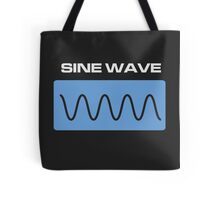 Sine Wave Tote Bag