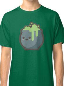 Cute Happy Cooking Green Cauldron Classic T-Shirt